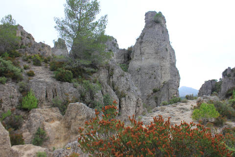 Photo de Pézènes-les-Mines du département de Herault