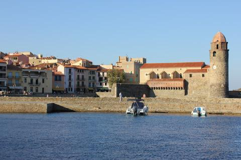 Collioure France PyreneesOrientales LanguedocRoussillon