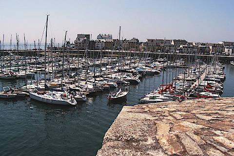 beach in Concarneau, Brittany