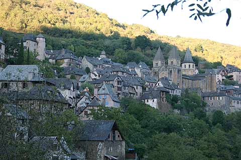 Photo of Conques in Aveyron