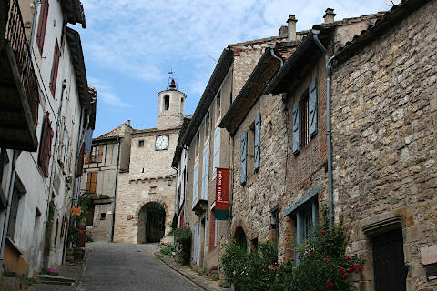 Photo of Cordes-sur-Ciel (Midi-Pyrenees region)
