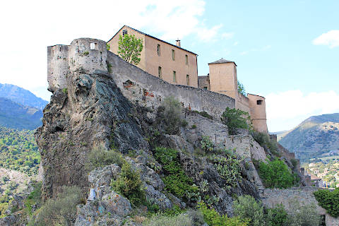 Photo of Corte in Corsica