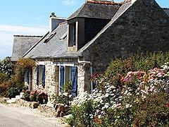 traditional brittany house on crozon peninsula