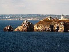Pointe Espagnoles, paysage sur la presqu'île de Crozon