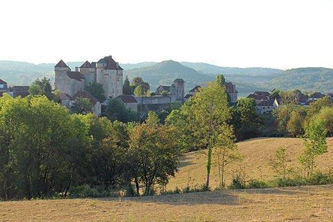 Photo de Curemonte en Massif Central (Limousin region)
