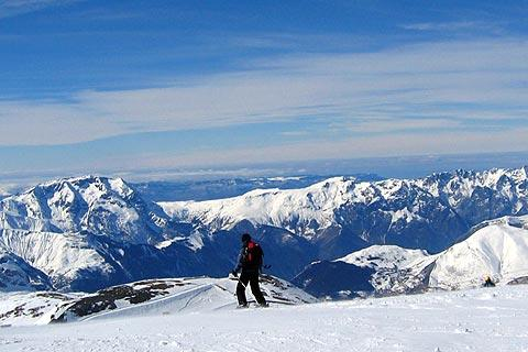 Photo de Deux-Alpes en Alps ski resorts (Rhone-Alpes region)