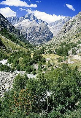 Valley in Ecrins National Park