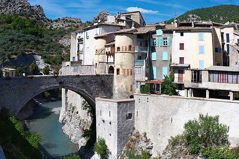Photo de Entrevaux (Provence region)