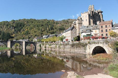 Photo of Estaing in Massif Central (Midi-Pyrenees region)
