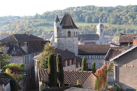 Photo de Figeac en Massif Central (Midi-Pyrenees region)