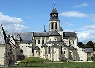 Abbey church at Fontevraud