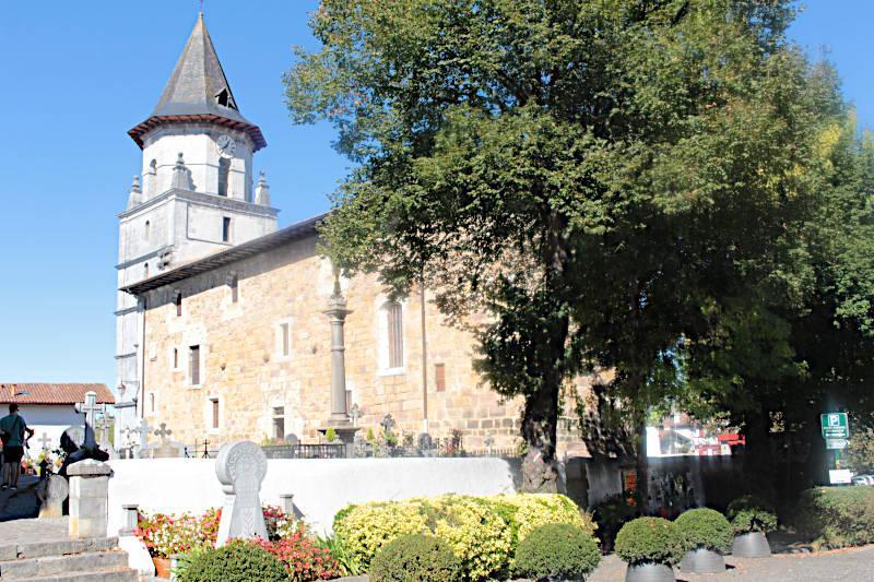 Photo of Ainhoa church of Notre-Dame