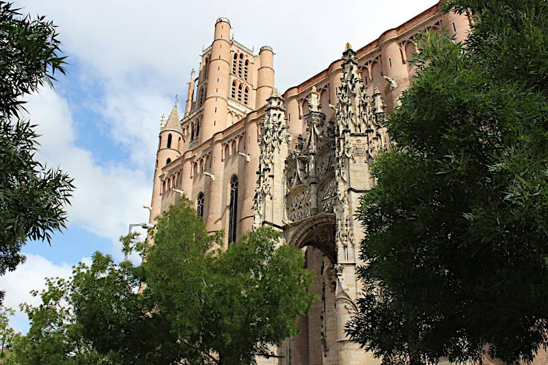 Photo of Albi cathedral