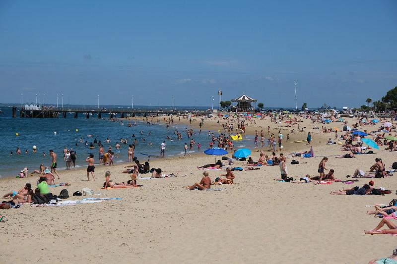 Photo of Arcachon town beach