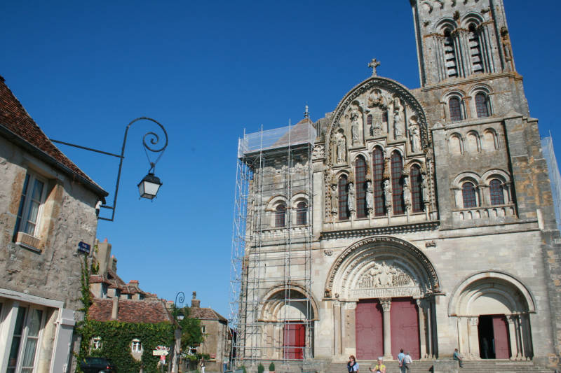 Photo of Vézelay basilica