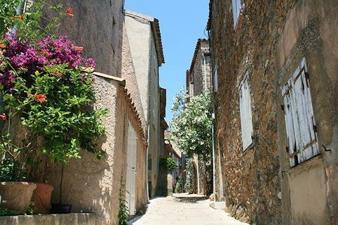 Photo of Gassin in Cote d'Azur (Provence region)