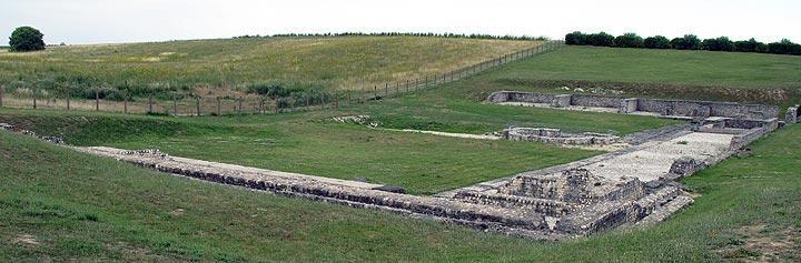 roman ruins at Sceaux-du-Gâtinais