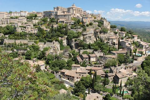 Photo of Gordes in Vaucluse
