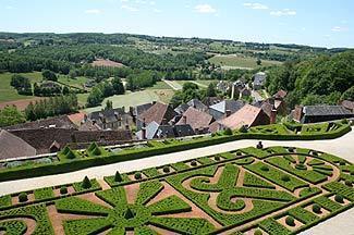jardins autour du chateau