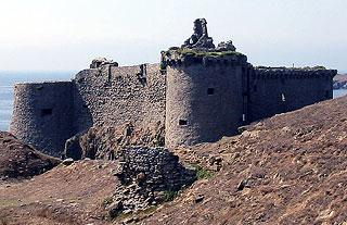 medieval castle on Ile d'Yeu