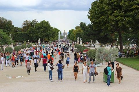 Photo of Jardin des Tuileries in Paris
