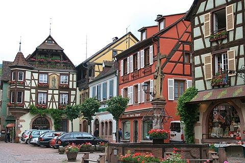 Photo of Kientzheim in Haut-Rhin