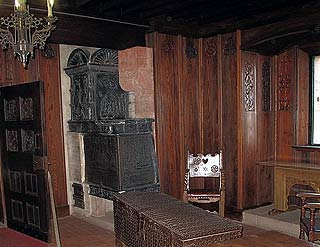 Room in the castle