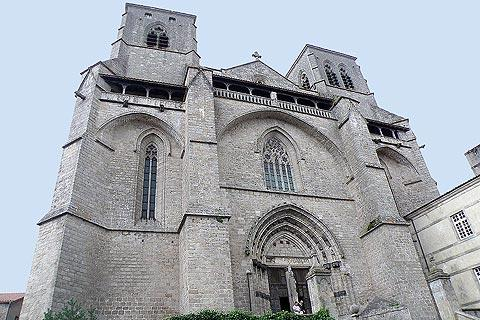 Photo of La Chaise-Dieu in Massif Central (Auvergne region)