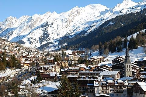 Photo of La Clusaz in Haute-Savoie