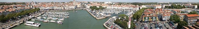 panorama photo of La Rochelle