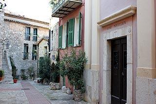 centre historique de La Turbie