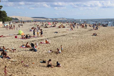 Photo de Le Moulleau en Bassin d'Arcachon (Gironde region)