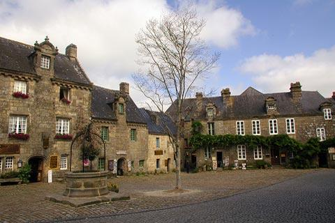 Photo of Locronan in Finistere