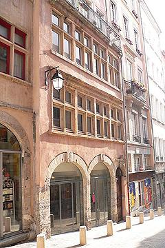 renaissance house in Lyon
