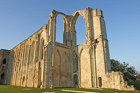 Photo of Maillezais abbey in Vendee
