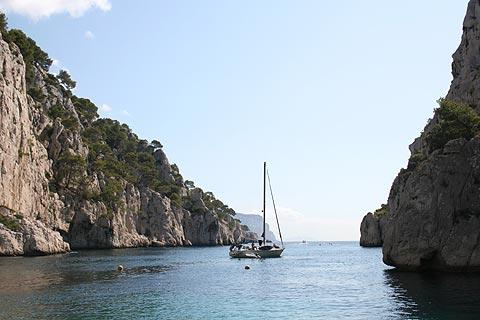Photo de Calanques at Marseille en Cote d'Azur (Provence region)