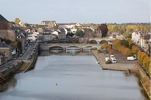 Photo of Mayenne (town) (Pays de la Loire region)