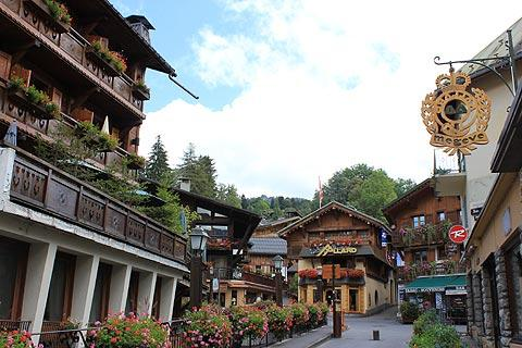 Photo of Megeve in Haute-Savoie