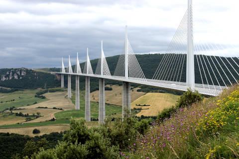Photo of Millau bridge in Aveyron