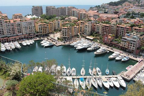Photo of Monaco in Cote d'Azur (Provence region)