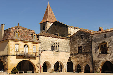 Photo of Monpazier in Dordogne