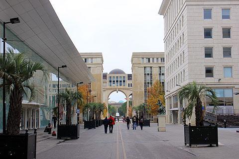 Photo de Montpellier-Antigone District (Languedoc-Roussillon region)