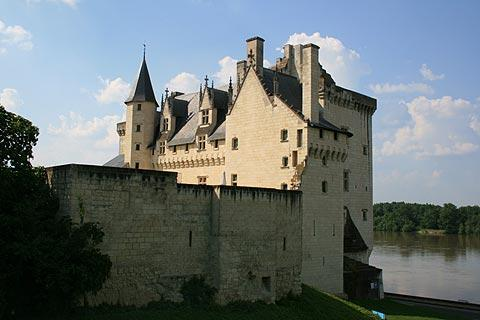 Photo of Montsoreau in Anjou (Pays de la Loire region)