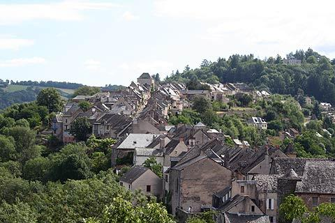 Photo of Najac in Aveyron