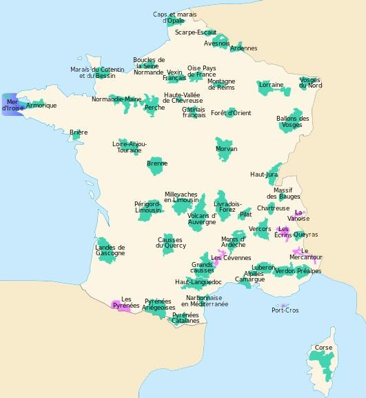 carte-parque-nationaux-en-france