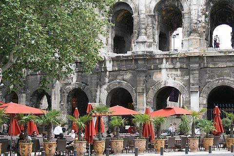 Nimes France Gard LanguedocRoussillon tourism attractions and