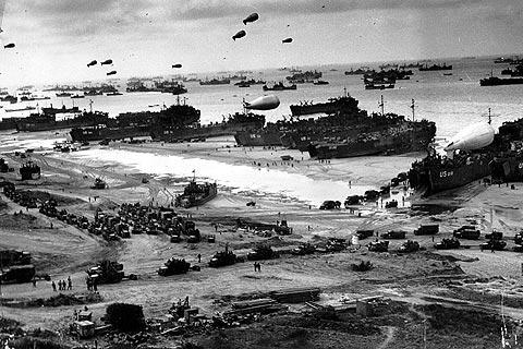Photo of Normandy landing beaches in Calvados