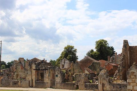 Photo de Oradour-sur-Glane en Massif Central (Limousin region)