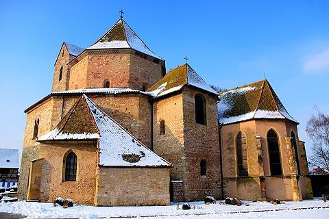 Photo de Ottmarsheim (Alsace region)