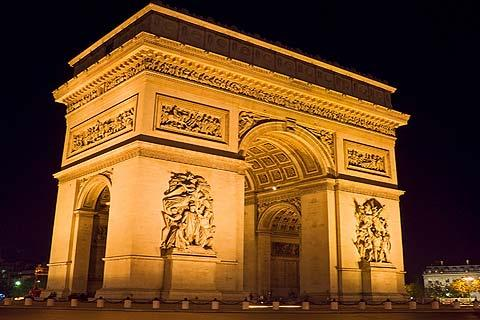 arc de triomphe paris histoire et renseignements. Black Bedroom Furniture Sets. Home Design Ideas